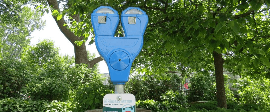 London Turns Its Old Parking Meters Into 'Kindness Meters'