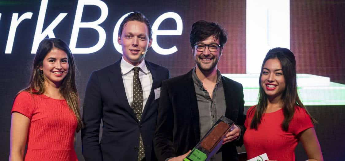 ParkBee wins the JLL Green Brick Award at the Realwise event