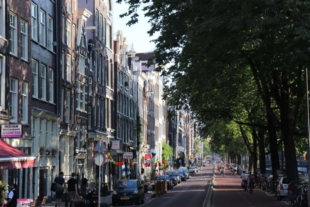 Amsterdam City in Summer